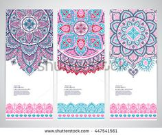 can be used for textile greeting card coloring book phone case print. Mandalas Painting, Mandalas Drawing, Mandala Design, Mandala Art, Free Printable Invitations Templates, Tatuagem Old School, Design Tattoo, Ethnic Patterns, Cool Business Cards