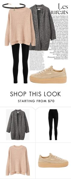 """Basic"" by erikajosefina ❤ liked on Polyvore featuring Toast, Balmain, MANGO, Puma and Carbon & Hyde"