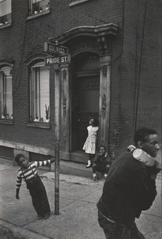 Colwell & Pride Street by William Eugene Smith  Pittsburgh, Pennsylvania, USA, 1955.