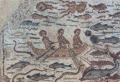 Mosaico de Hippolytus. Siglo IV d.C.