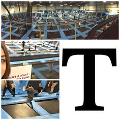T is for Trampolining! Jump Nation in Manchester is siiiiiick! Aching like an old lady now! #AlphabetDating