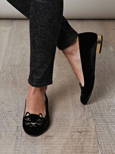 kitty slipper shoes