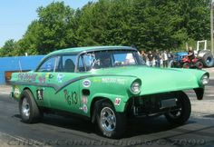 Ford gasser - The Riddler