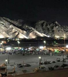 Mt. Uhad at night # Mecca