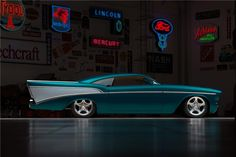"1957 CHEVROLET BEL AIR ""CHEZOOM"" CUSTOM - Barrett-Jackson Auction Company - World's Greatest Collector Car Auctions Chevrolet Bel Air, 1957 Chevy Bel Air, My Dream Car, Dream Cars, Barrett Jackson Auction, Collector Cars, Classic Trucks, Custom Cars, Concept Cars"