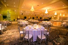 Tis the season to be married!   Springfield Country Club's Grand Ballroom   Photo: Ron Solimon Photojournalism