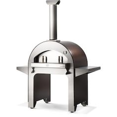 Outdoor Pizza Ovens : BBQGuys Gas Pizza Oven, Pizza Oven Outdoor, Pizza Ovens, Charcoal Grill Smoker, Best Charcoal Grill, Wood Storage Shelves, Camping Desserts, Ceramic Fiber, Fire Pizza