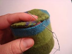 How to Make a Felted Wool Pincushion -