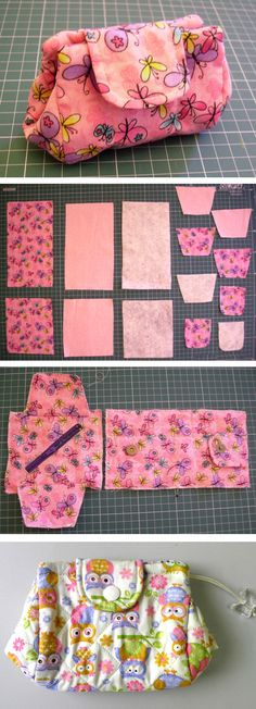 Japanese Pouch Tutorial   http://www.free-tutorial.net/2017/01/japanese-pouch-tutorial.html