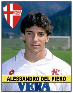 Alessandro Del Piero's First Football Sticker.