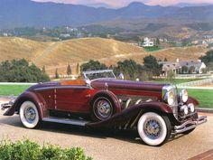 1932 Duesenberg - Model SJ Convertible - Luxury Car Connection