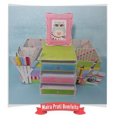 Organizador produzido com o Kit Craft & Scrap by Fa Maura Designer  #famaura #famauradesigner #scrapbookingdigital  O kit você pode adquirir aqui:  http://famaura.com/shop/index.php?main_page=product_info&cPath=3&products_id=1399#.U-vQjvldVS1