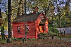Little red school house.