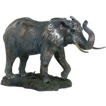Elephant Sculpture Trunk Up