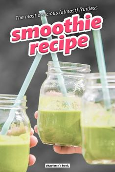 Smoothies To Lose Weight Fast.Basic And Practical Green Smoothies Tips For Your Daily Diet Green Detox Smoothie, Healthy Green Smoothies, Green Smoothie Recipes, Smoothie Diet, Diet Recipes, Healthy Recipes, Tasty Meals, Delicious Recipes, Easy Recipes