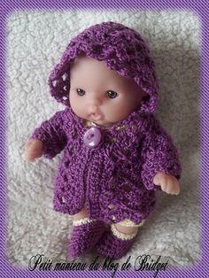 Itty Bitty crochet jacket