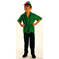 Peter Pan Toddler / Child Costume Your Favorite Character from Never Never Land is back! Thist costume works as either a Child Elf or Peter Pan! The costume include Peter Pan Toddler Costume, Peter Pan Halloween Costumes, Peter Pan Costumes, Wholesale Halloween Costumes, Boy Costumes, Disney Costumes, Halloween Costumes For Kids, Costume Ideas, Elf Costume