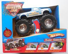 2006 Hot Wheels Monster Jam Iron Warrior Rip Strip Super Speeders J3187  #HotWheels #IronWarrior