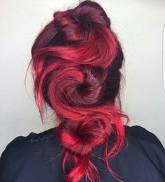 All about da red! @hairbyelm