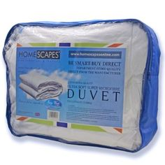 Homescapes - Ultrasoft Super Microfibre - 4.5 Tog - King Size - The Best Synthetic Duvets designed for And Used By The Best 5 and 7 Star Hotels From Around The World - Anti Allergy - Anti Dustmite - Box Baffel Construction - Washable at Home: Amazon.co.uk: Kitchen & Home