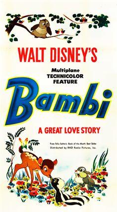 Vintage Bambi (via The Merry Blog) #bambi #deer #disney