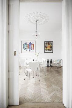 Skandinavisk at home  #Arne Jacobsen