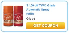 $1.00 off TWO Glade Automatic Spray refills