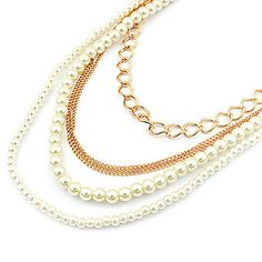 USD $ 7.99 - Fashion Delicate White Pearl Pendant Necklace, Free Shipping On All Gadgets!