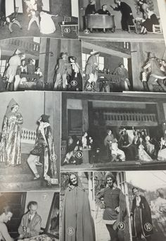 """Ye Merrie Players where another outlet for social interaction. For people interested in theatre and performance, Miami offered the dramatic honorary society. This was an exclusive talented group. They performed plays year round plays such as, """"The Great Broxopp,"""" and """"If I Were King."""" They drew large audiences and theatre grew to have a large social impact on the school and community. #MUArchives #1936Recensio"""