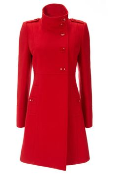 Great red coat by Wallis. $115
