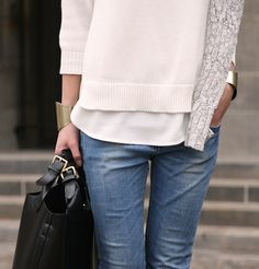 Minimal + Classic: cosy spring casual