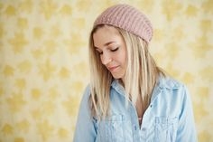 Beanie Hat  Courtney 2015 Model Photo Shoot, Westfield, IN | Photographer : Such Great Heights Photography, Maya Laurent | Model: Courtney | Carmel High...