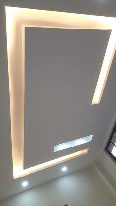 Gypsum Ceiling Design, House Ceiling Design, Ceiling Design Living Room, Bedroom False Ceiling Design, Living Room Tv Unit Designs, Asdf, Ceiling Ideas, Interior Design Kitchen, Door Design