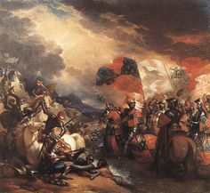 Edward III Crossing the Somme. Battle of Blanchetaque
