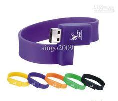 Wholesale 100PCS/lot Bracelet USB Flash Drive Promotional items 4Gb USB key Cartoon USB Memory Disk 8330, Free shipping, $5.68/Piece | DHgate