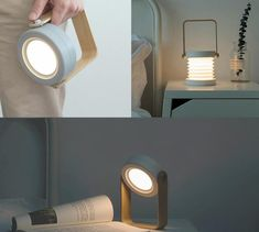 This fantastic, highly portable, collapsible lamp is perfect for a whole range of activities - from camping and  hiking to reading a book in bed!    Get your Portable Lamp now at RomeaDecor.com and enjoy 50% OFF   FREE Shipping. Collapsible Desk, Portable Desk, Bedside Table Lamps, Desk Lamp, Garden Living, Home And Garden, Humble House, Lights Please, Home Trends