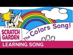 Learn all about colors with an original song and a flying unicorn and robot! The animation is great for educating about primary colors, secondary colors, war...