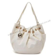 Michael Kors Tote Leather Oyster White
