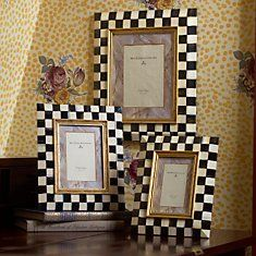 Made in our signature style, MacKenzie-Childs frames make any photo look fabulous, and are the perfect way to preserve and showcase memories. Whimsical Painted Furniture, Painted Chairs, Funky Furniture, Mackenzie Childs Furniture, Mackenzie Childs Inspired, Mckenzie And Childs, Craft Projects, Projects To Try, French Country Decorating