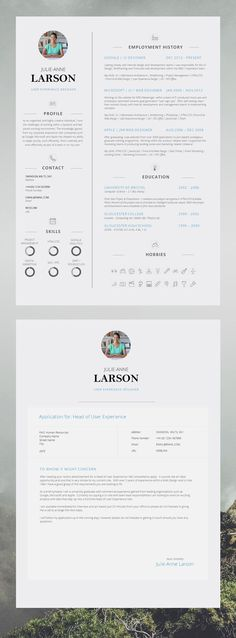 best cover letter template ideas pinterest letters resume application advice word design instant download