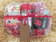 Ladies college off to #university student fresher tea coffee gift #hamper #basket,  View more on the LINK: http://www.zeppy.io/product/gb/2/201637045668/