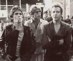 Dennis Hopper, Matt Dillon, Vincent Spano and Mickey Rourke Rumble Fish   1983