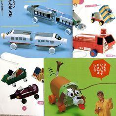 http://www.decopeques.com/manualidades-infantiles-camiones-reciclados/