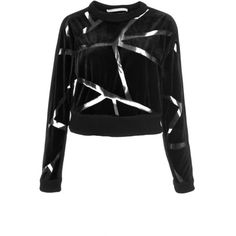 Jonathan Simkhai Black Sheer Angle Puzzle Sweatshirt (13 310 UAH) ❤ liked on Polyvore featuring tops, hoodies, sweatshirts, sweaters, black, long sleeve pullover, cotton sweatshirts, sheer top, patterned tops and long sleeve cotton tops