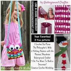Your Favorites 3 Free Crochet Patterns