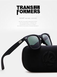 4622aee6640 KDEAM KD2140F-50 Polarized Sunglasses Men Women UV400 Retro Square Frame  Sun Glasses for Outdoor Outdoor Golf Running Driving Sale - Banggood.com