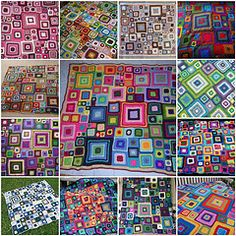 Collection of #babette afghan images #crochet