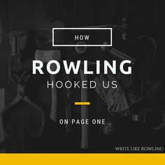Agents and editors get swamped by unsolicited manuscripts every day. You cannot give them a single excuse to reject yours. Let's look at how Rowling escaped the slushpile with her first page in 'Harry Potter and the Sorcerer's Stone.'