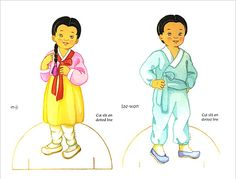 Korean girl and boy dolls 01