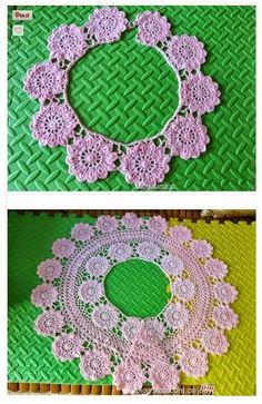 Blusa a crochet con gráfico y paso a paso - Manualidades Y DIYManualidades Y DIY